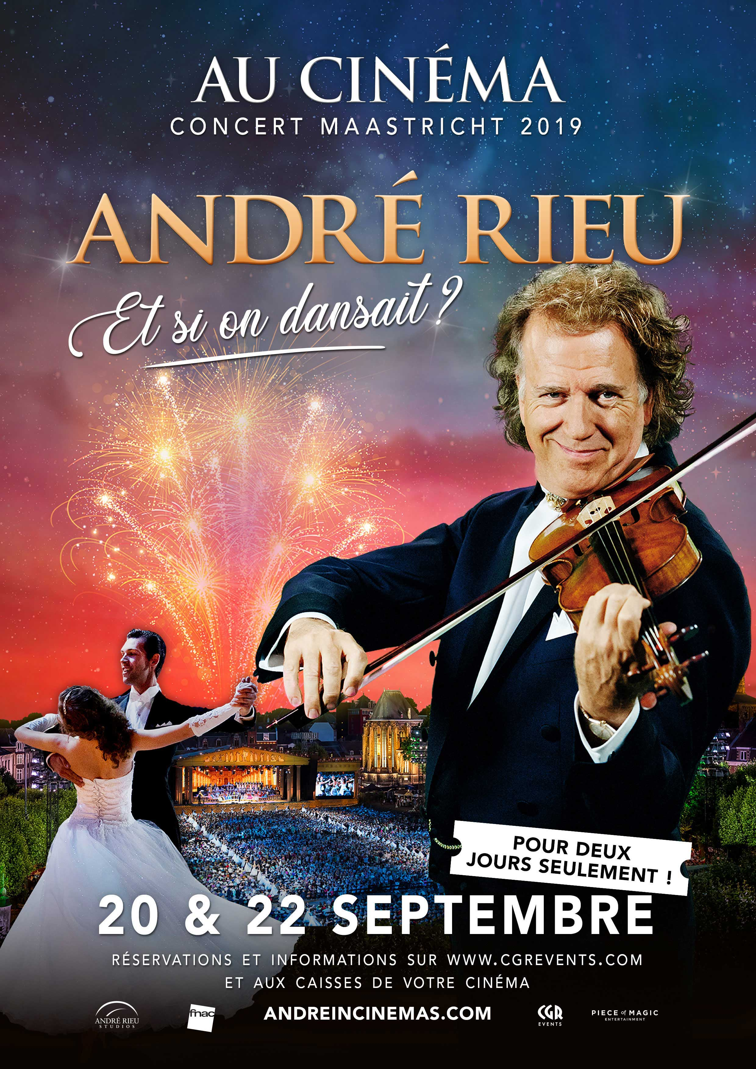 CONCERT D ANDRE RIEU ET SI ON DANSAIT CGR EVENTS 2