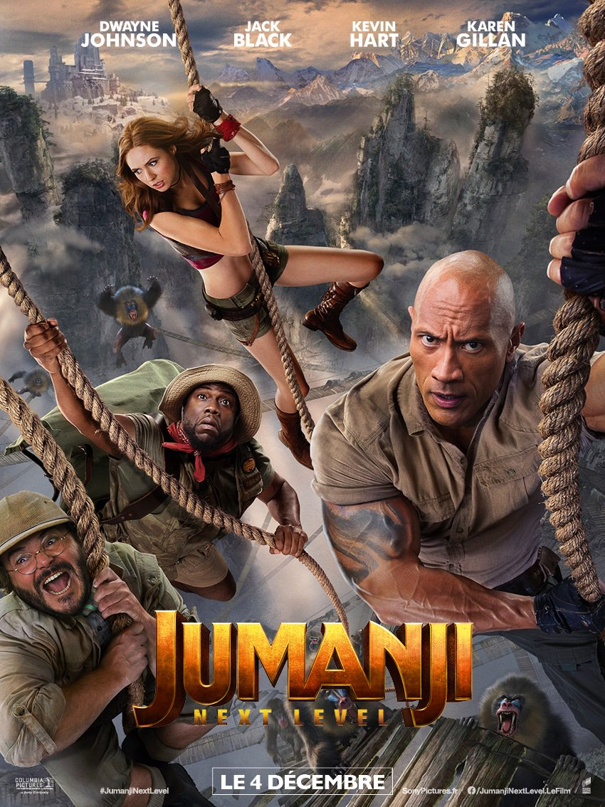 JUMANJI NEXT LEVEL